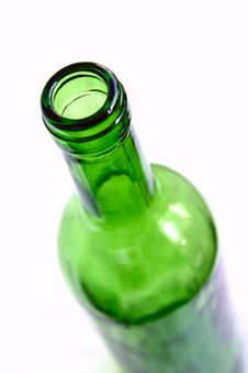 Free Green Wine Bottle Stock Image - 3239481