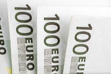 One Houndred Banknotes Stock Photos