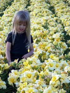 Free Innocence In Flowers Royalty Free Stock Image - 3239776