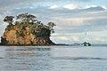 Free Yacht Next To Island Stock Photos - 32308063