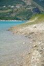 Free Little Mountain Village On Fiastra Lake Stock Photography - 32308832
