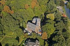 Free Aerial View On A Castle Stock Photo - 32301810