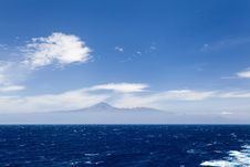 Free Ocean And Tenerife, Teide Mountain Royalty Free Stock Photo - 32305675