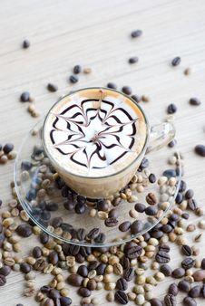 Free Vertical Latte Art Stock Photo - 32306220