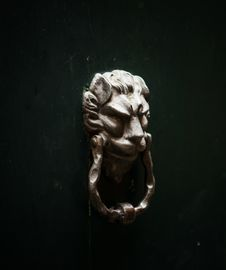Ancient Doorknocker Royalty Free Stock Image