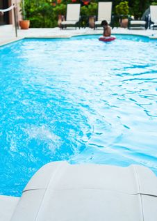 Pool Filter And Jet Stock Image