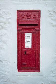 Vintage Postbox Royalty Free Stock Image