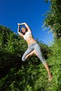 Free Young Woman Doing Yoga Outdoor Stock Photo - 32325220