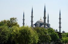 Free Blue Mosque Stock Image - 32325781