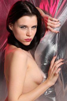 Seductive Woman Portrait Royalty Free Stock Image
