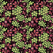 Free Stylized Floral Design. Seamless. Royalty Free Stock Images - 32347509
