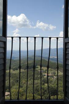 View On Italian Landscape