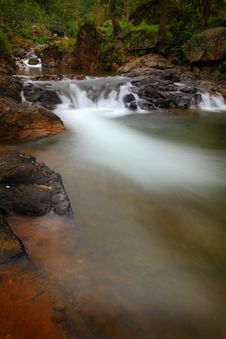 Free Beautiful River And Waterfall Royalty Free Stock Photography - 32352567