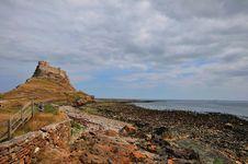 Free Holy Island Castle. Royalty Free Stock Photo - 32355885