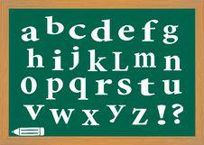 Free The English Alphabet Stock Photos - 32359313