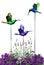 Free Decorative Hummingbirds Royalty Free Stock Photo - 32351305