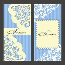 Free Set Of Invitations Stock Image - 32360381