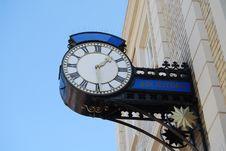 Free Victorian Public Clock Stock Image - 32361101
