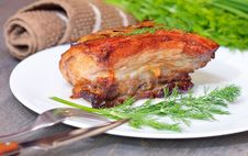 Free Daked Bacon Stock Photography - 32368152