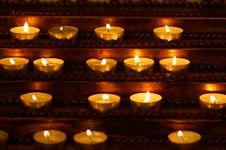 Free Burning Candles Stock Image - 32368221