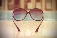 Free Fashionable Women S Sunglasses Royalty Free Stock Image - 32368386