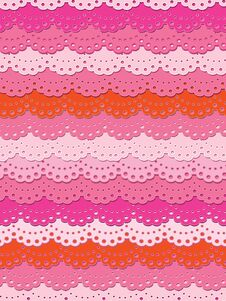 Free Pretty Pink Lace Royalty Free Stock Image - 32368536