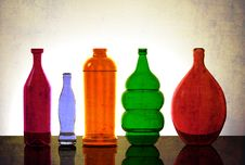 Free Isolated Glassware Lit From Behind Stock Photo - 32372760