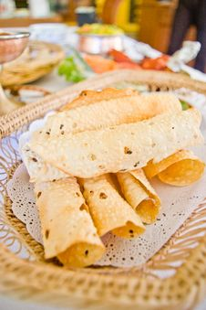 Free Indian Bread Royalty Free Stock Photos - 32376518