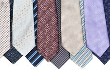 Free Background Of Ties Royalty Free Stock Image - 32389036