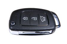 Pop-up Car Key Royalty Free Stock Images
