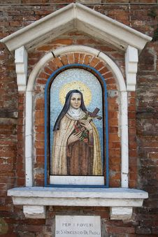 Free Holy Mother In Venice Royalty Free Stock Photos - 32391658