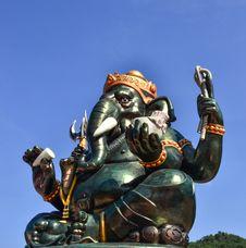 Free Ganesh. Stock Image - 32391981