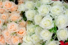 Free Fabric Roses Stock Photography - 32393732