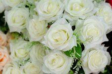 Free Fabric Roses Stock Image - 32393741