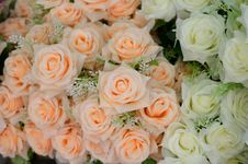 Free Fabric Roses Stock Images - 32393744