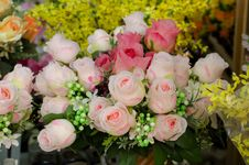 Free Fabric Roses Stock Photos - 32393753