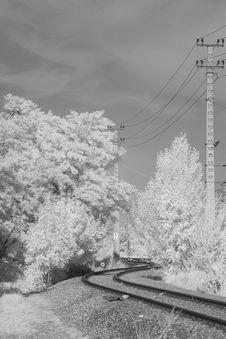 Free Rails Into Phantasy Stock Photography - 32396022