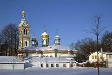 Free Russia. Moscow. Saint Nicholas Church. Royalty Free Stock Photo - 32397975