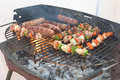 Free Barbecue Cooking Royalty Free Stock Photo - 3240885