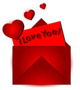 Free I Love You Graphic Stock Photography - 3242402