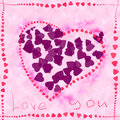 Free Card With Love Stock Images - 3245724