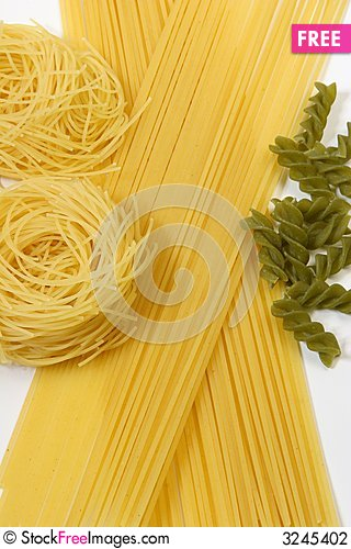 Free Colorful Pasta , Spaghetti Stock Photography - 3245402