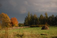 Free Autumn In A Heart Of A Country Stock Photo - 3240460
