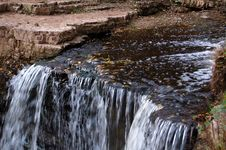 Free Autumn Waterfall Stock Images - 3240544