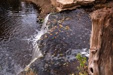 Free Autumn Waterfall Royalty Free Stock Images - 3240569