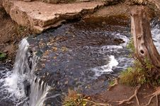 Free Autumn Waterfall Stock Photos - 3240573