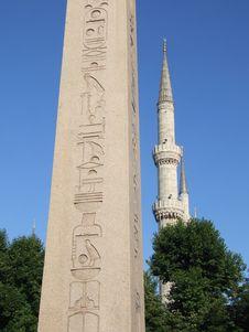 Free Obelisk Stock Photo - 3240910