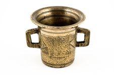 Free Brass Mortar Stock Image - 3240911