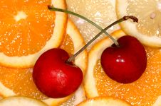 Free Cherries And Citrus Stock Photos - 3241093
