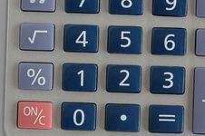 Free Calculator Royalty Free Stock Photography - 3241307